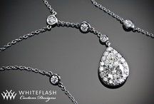 Perfect Pendants  / Diamond Pendants - Accentuate your neck line with a dazzling Whiteflash diamond necklaces and diamond pendants. From elegantly minimalist to intricate statement-makers. Pendants we love to wear every day, all day or even someday! http://bit.ly/xfbE6Y / by Whiteflash Diamonds