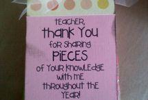 Teacher/Boss/Small Gift Ideas / by Christina G