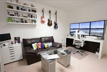 Cool setup room