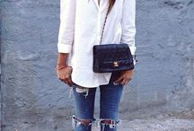 White shirt styling