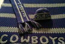 Cobija de cowboys