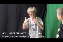 Homeschool: ASL