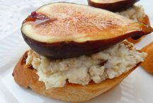 Goat Cheese Recipes / Sweet and Savory dishes, made with goat cheese.
