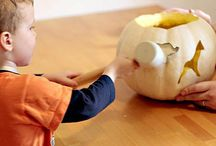 Pumpkin carving party ideas / by Tara McMurry McConnell