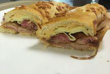 Sanduíche / Peito de peru, salame e linguiça defumada!!!