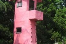 Unusual homes and Tree houses / Tree houses and unusual homes / by LeOra D