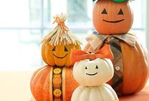 FALL, HALLOWEEN DECORATIONS / by Shellie Denham