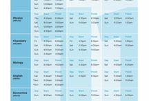 Time tables