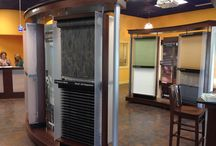 Our Design Center / Check out our Hunter Douglas window covering and fabric showroom!