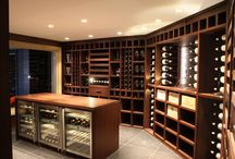 Wine cellars - they don't just have to be in the ground... / We know how to store wine to keep it at its best.  So here is a portfolio of our latest offering in the UK - wine rooms and walls.  What do you think of these expert wine galleries?