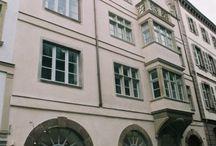 Grand' Rue, Strasbourg. / Logements sociaux – Maitre d'ouvrage : Les Tanneries de France - Groupe CRENN 1000 m² Coûts : 0,94 M€ HT Année : 1999-2000