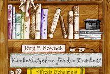 Buchtitel / Die Titelbilder meiner Bücher