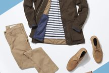Spring & Summer Trends for Men / Top tips for men on the go-to spring and summer trends. Our stylists work with you to develop the perfect Trunk just for you.