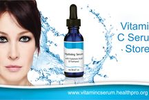 Vitamin C Serum Store / Vitamin C Serum Store : Our skin requires a wide variety of things to remain at its best. To have a healthy skin, your diet, lifestyle, products you use and many others play a big part Using a topical vitamin C serum for face and hands are significant because it works as a fluid expert.  / by Vitamin C Serum Store
