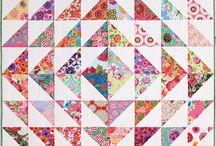 Quilt - half square triangle