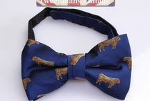 Silk Bow Ties / Silk bow ties for men.
