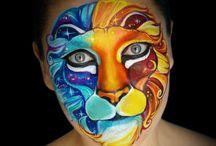 pinturas faciais