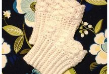 crochet socks, mitts, and boot cuffs / by Susan Jakobsen