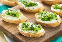 Appetizers to Get the Party Started / Appetizer recipes--some vegan, some not