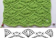 Patrones Crochet / Hermosos patrones para compartirlos con nuestras amigas amantes del Crochet.