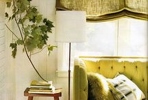Grand Green / Green - serene yet bold - this color is popping up in home decor trends lately. Try out some of these very pinnable ideas today!