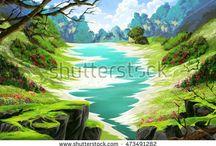 강가 계곡