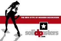 Promotional Illustration Screens of solidposters.com / Screens and Illustrations of http://www.solidposters.com
