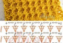 カギ針編み模様