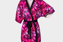 Kimono Robes for relaxing evenings / These Kimono's are just too Gorgeous and are the perfect thing to unwind in!