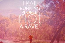 trail running / ads etc marketing rel. material