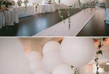 Bryllup dekor lokalet