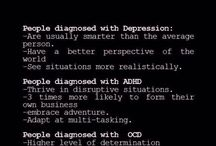 adv of a mental disorder