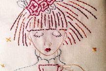 Katie Dawson for Cottage Garden Threads / Current and future stitching projects by Katie Dawson using Cottage Garden Threads.