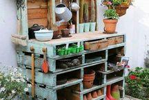 Wood pallets DIY