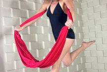 Aerial yoga/hammock/hoop