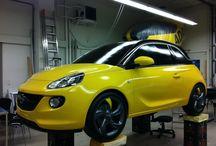 Opel Adam Car / Ultralight Opel Adam Model for Car Show