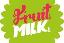 FRUIT MILK / Marca de Salada de fruta ambulante