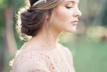 Hair did, face did, err-thang did. Fancy. / Up do, bridal hair, hair pieces & veils