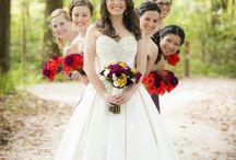 Bride and Bridesmaids (невеста с подружками)