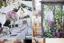 Lavender green wedding