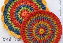 crochet house items