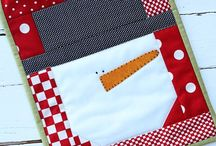 quilted mug rugs and coasters / by Diana Bennett