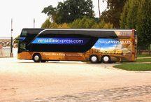 Versailles Express / Versailles Express vous propose des transferts entre Paris et le Château de Versailles.   Choisissez Versailles Express et embarquez pour un voyage inoubliable au cœur de l'Histoire des rois de France des XVIIe et XVIIIe siècles