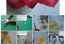 flowers tutorials / come creare fiori in flowerpaste / by Raffaella Damiano