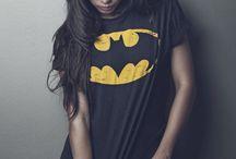 Tête shirt super héros