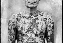 Thai sak yant tattoos