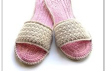 Crochet for feet and body