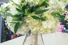 To Have and To Hold / Wedding bouquets and centerpieces from our designers  / by Flowerama Of Springfield