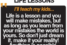 Father's Day - Life Lessons / Celebrating Father's Day, we've asked our Facebook fans - what did you Dad teach you OR what will you teach your kids? / by Jacamo UK