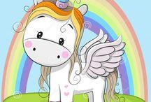 Unicornio desenho
